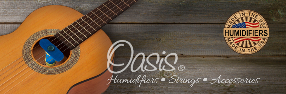 oasis humidifiers for guitars ukuleles bass and mandolins. Black Bedroom Furniture Sets. Home Design Ideas